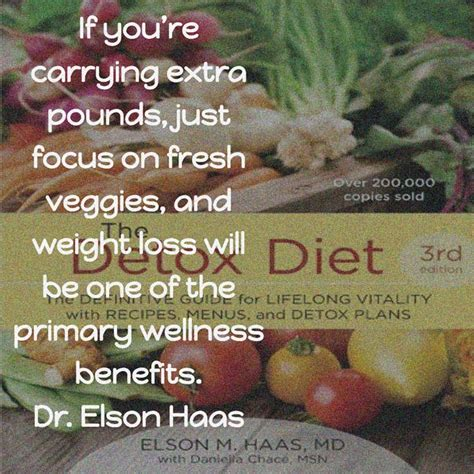 Dr Elson Haas Detox Diet elson haas focus on fresh veggies weight loss