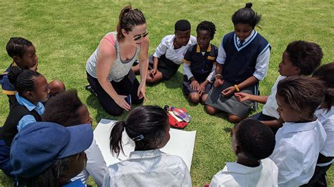 Mba Colleges In South Africa by South Africa Trip Hits Home Importance Of Sports