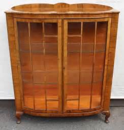 2 china cabinet antiques atlas walnut 2 door glazed china cabinet