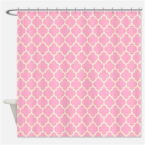 cute quatrefoil pattern pink quatrefoil pattern shower curtains pink quatrefoil