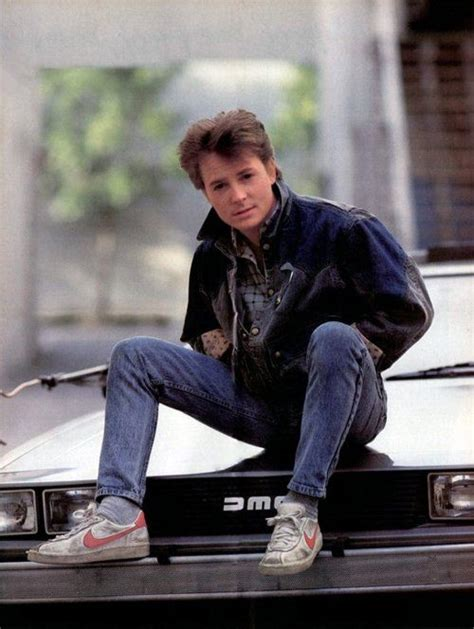 michael j fox young back to the future michael j fox in back to the future 1980s perfect in