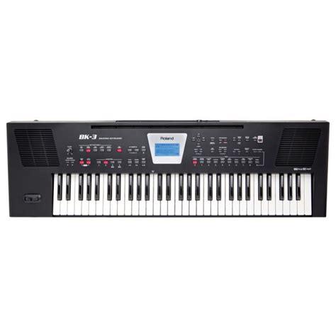 roland bk  teclado de acompanhamento compara precos