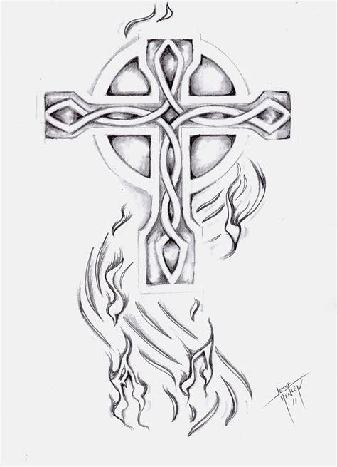 Pencil Drawings Of Celtic Crosses