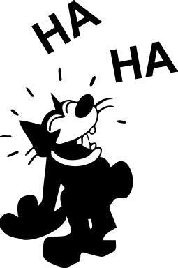 felix the cat laughing cartoon animals cat felix the
