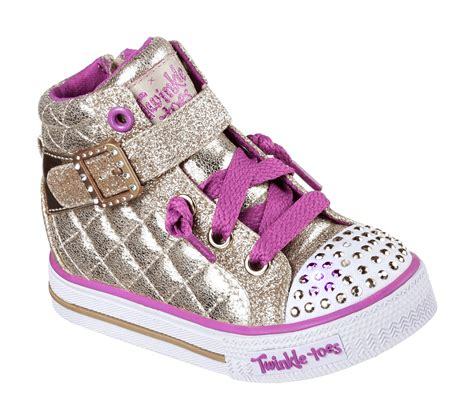 twinkle toes light up shoes buy skechers twinkle toes shuffles sweetheart sole s