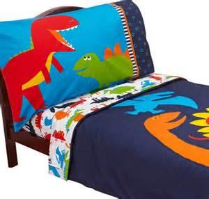Toddler Bed Sheets Dinosaur Dinosaurs Toddler Bed Set Carters Prehistoric Pals Bedding