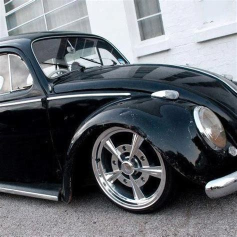 volkswagen bug wheels black vw beetle rims volks air cooled pinterest