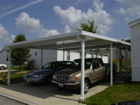 Home Carport Dacraft Dayton Ohio Mobile Home Products Car Ports