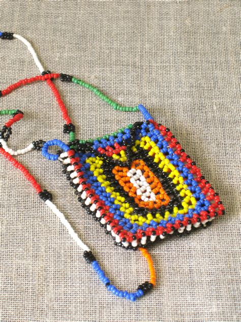 guatemalan beaded necklaces vintage beaded necklace pouch guatemala beadwork