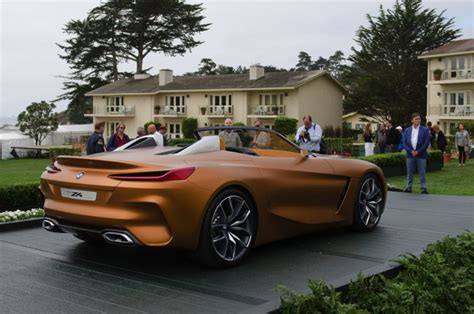 live photos of bmw concept z4 at pebble
