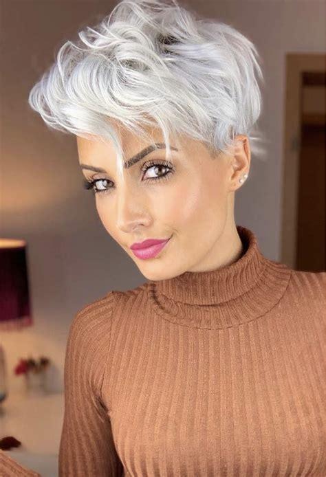 latest modern short shaggy hairstyles  haircuts