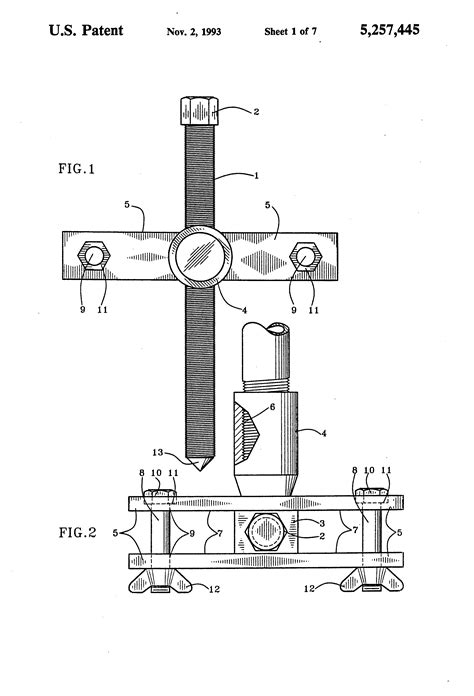 Pillow Block Bearing Removal by Patent Us5257445 Bearing And Pillow Block Puller