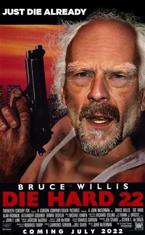 Die Hard Meme - i m staggered by the question of what it by bruce willis