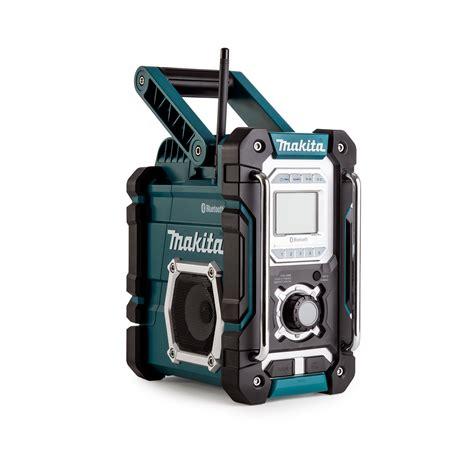makita charger radio makita dmr106 jobsite radio with bluetooth and usb charger