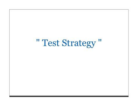 ieee 829 test strategy template