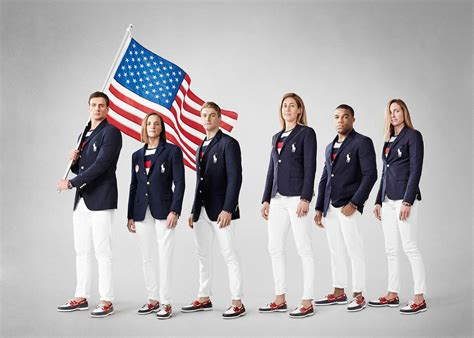 Team Wardrobe by Ralph Lauren S 2016 Opening Ceremony For Team Usa