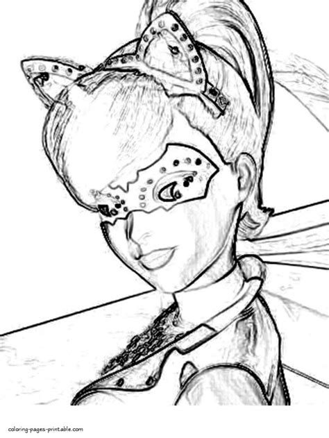 coloring pages barbie spy squad 686 best images about coloring book pages on pinterest