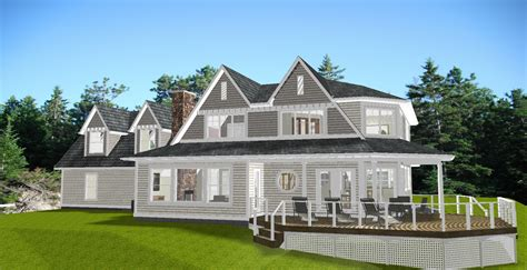 new style house plans lake huron new style house home building plans 83056