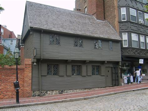 Paul Revere House by The Paul Revere House Boston Tripomatic