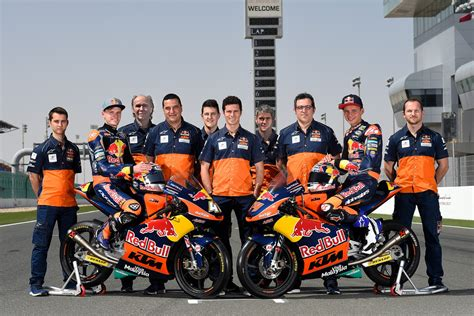 Ktm Redbull Ktm Enters Fifth Moto3 Season With A Strong Lineup Of
