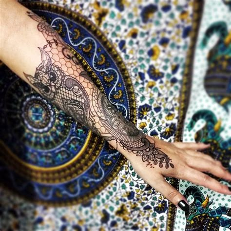 tattoo pattern lace 101 tasteful lace tattoos designs and ideas