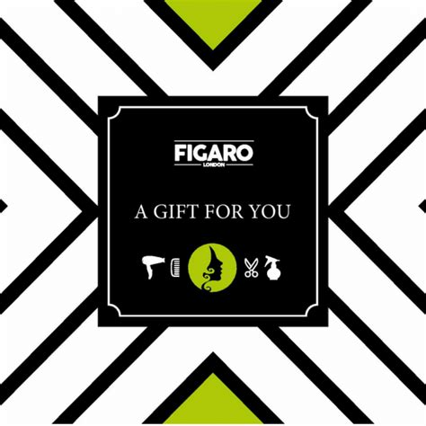 Different Types Of Gift Cards - giftcards that are not tacky figaro london hair beauty old street