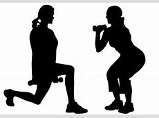 Women exercise vector free download silhouette clip art ... Exercise Clip Art Free To Copy