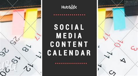 hubspot social media template 25 best ideas about social media calendar template on