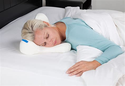 stomach sleeper pillow sharper image
