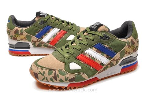 mens adidas originals zx 750 running shoes army green camouflage pattern adidas zx 750 price