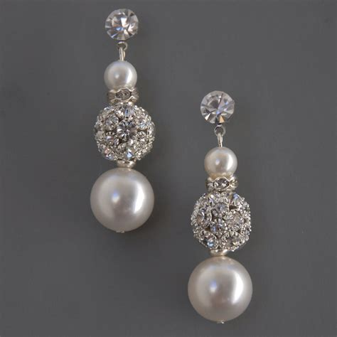 jewelry on stella bridal jewelry earrings wedding by camillachristine