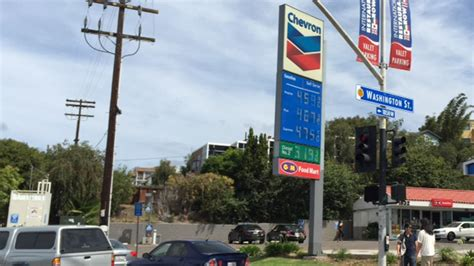 Gas L In San Diego by Gas Prices Only A Headache In California Nbc 7 San Diego