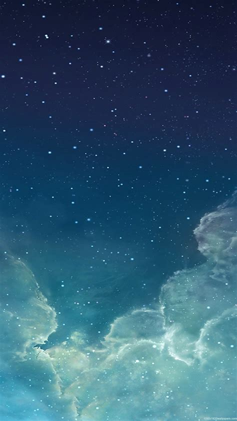 Wallpaper Iphone Sky | 1080x1920 star night sky wallpapers hd