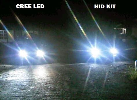 Lu Hid Untuk Mobil perbedaan lu hid dan led serta halogen pada mobil
