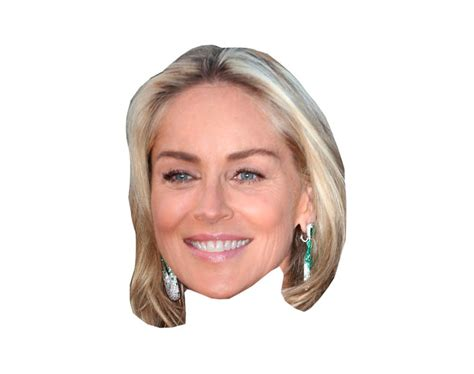 sharon stone face shape what face shape does sharon stone have what shape is