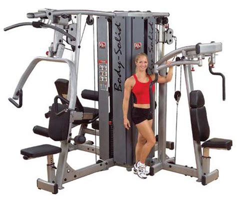 appareil de musculation bodysolid pro dual tour pour 4