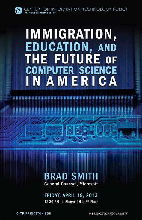 on tech edu a series on education and technology books brad smith immigration education and the future of