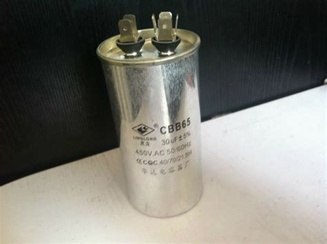ac motor capacitor air conditioner compressor start capacitor cbb65 450vac 30uf ebay