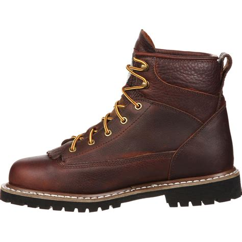 lace to toe work boots steel toe waterproof lace to toe work boot gbot053