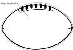 Free Football Template Printable 7 Best Images Of Free Football Printable Templates Free