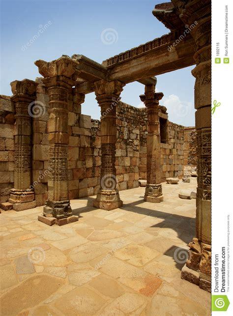 ancient ruins  india royalty  stock image image