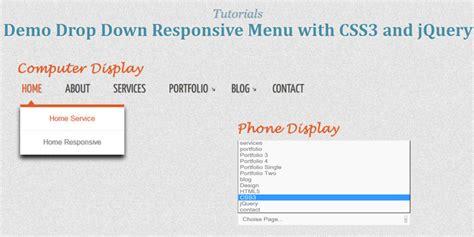jquery tutorial menu dropdown 7 excellent css3 responsive menu tutorials future tutorials