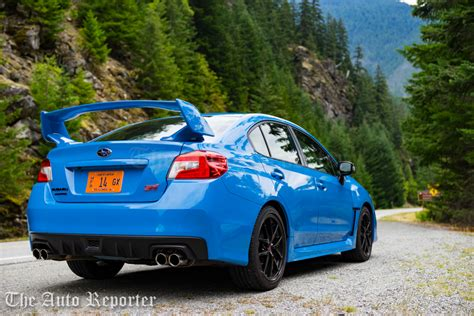 2016 subaru wrx sti review the auto reporter