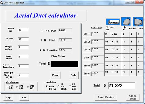how to calculate duct size for a room freeware duct size calculator excel