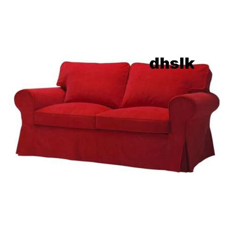 Ikea Ektorp Sofa Bed Cover Leaby Red Bettsofa Bezug Ektorp Sleeper Sofa Slipcover