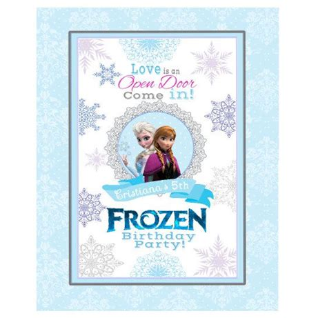 frozen printable welcome 22 best images about frozen birthday party on pinterest