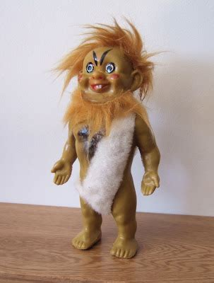 anatomically correct caveman doll curious objects missing link