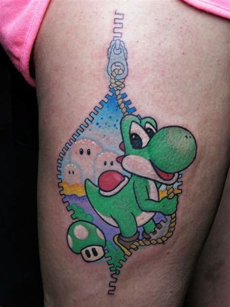 yoshi tattoo yoshi breaks out newschool http www tintenfass it