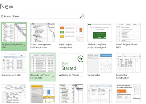 The Office Templates Within Microsoft Project The Project Corner Microsoft Office Project Templates
