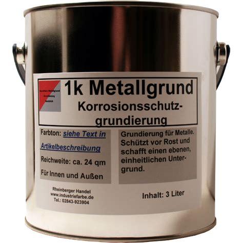Metall Grundieren Lackieren by Grundanstrich F 252 R Metall Rostschutzgrund Grundierung 3